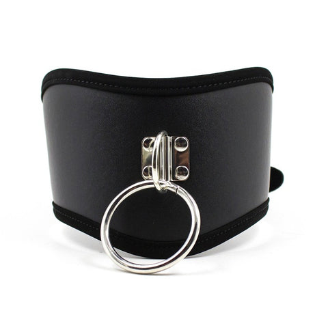 PU Leather Sex Collar for women