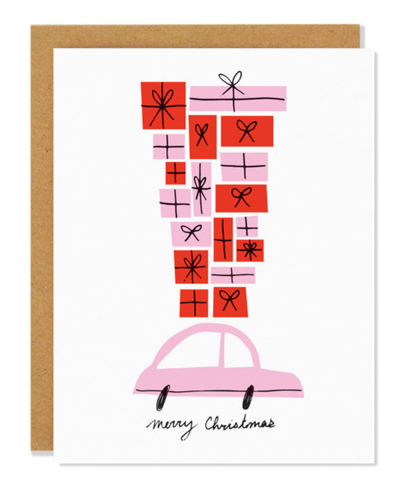 Gift delivery Holiday card