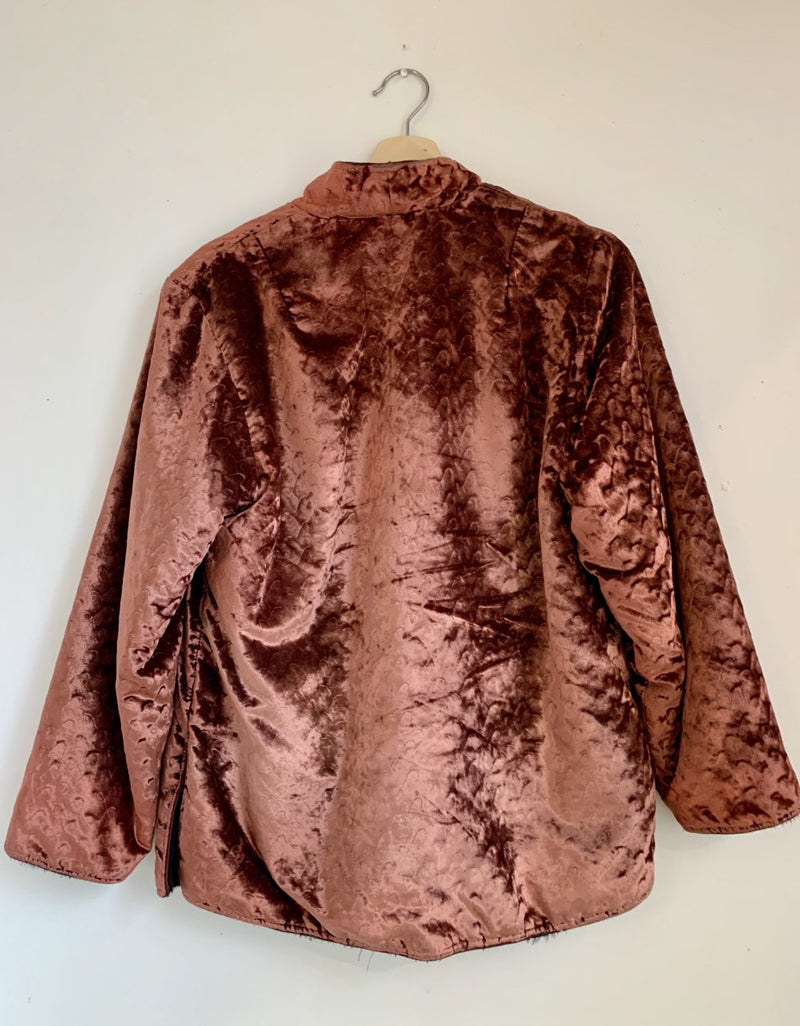 Reversible Smoking Jacket