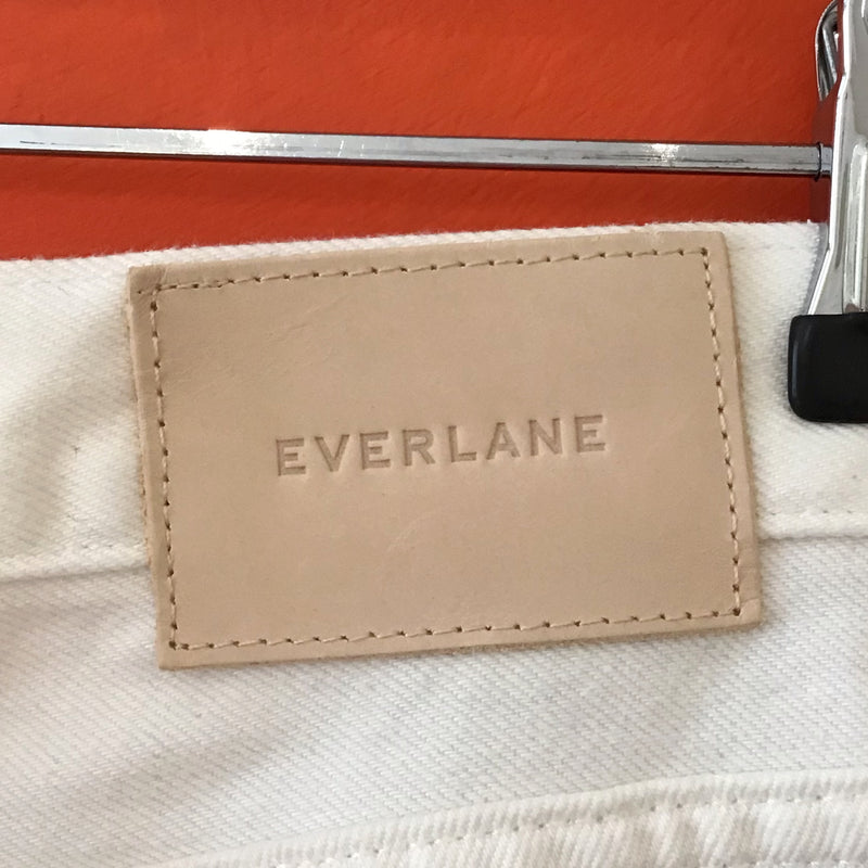 Ivory Everlane cheeky jeans