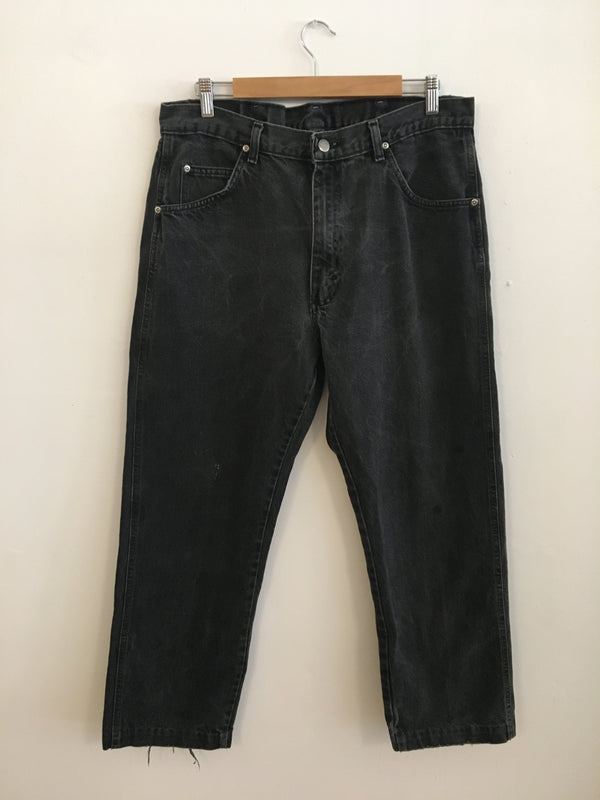 Wrangler denim - high rise + straight leg