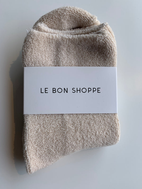 Le Bon Shoppe - Cloud Socks - Ecru