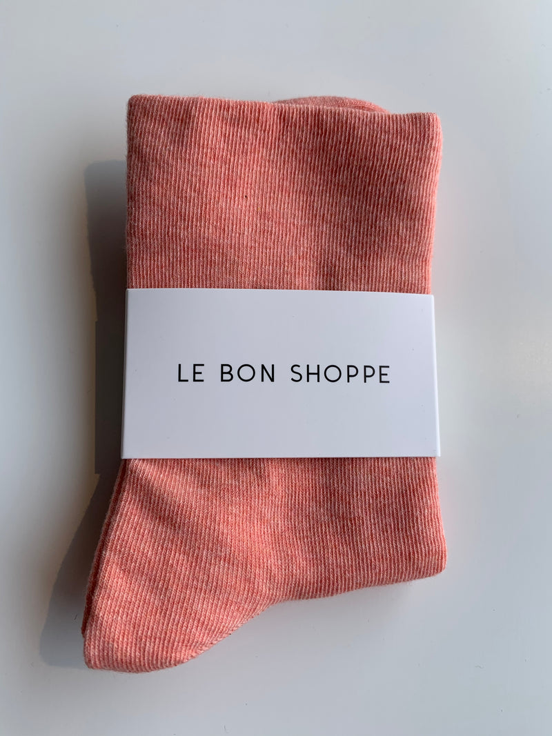 Soft sneaker sock - Peach