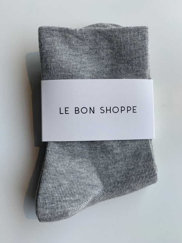 Soft sneaker sock - Heather Grey