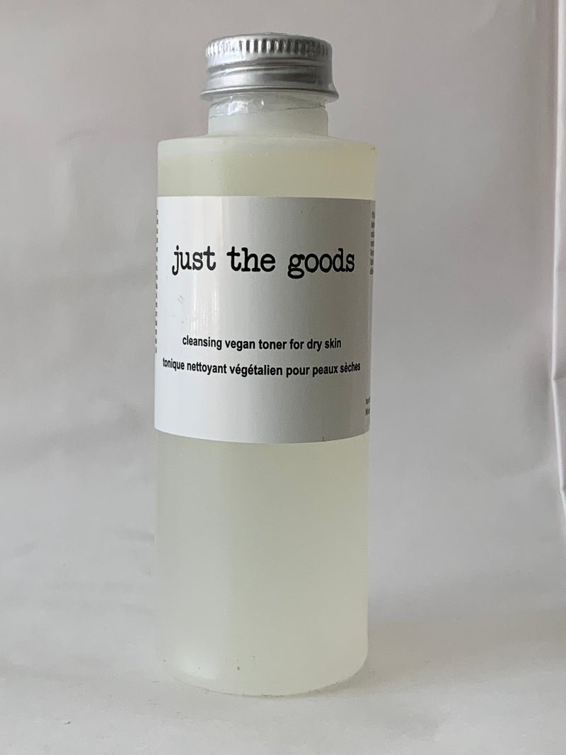 Vegan Cleansing Toner - Dry Skin - 4 oz