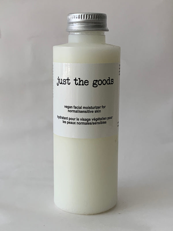 Vegan Facial Moisturizer - Normal/Sensitive Skin - 4 oz