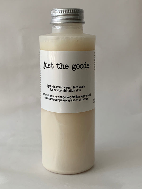 Vegan Foaming Face Wash - Oily/Combo - 4 oz