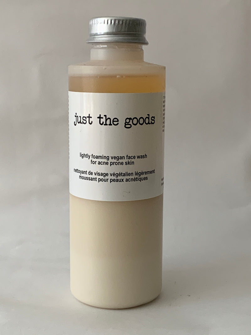 Vegan Foaming Face Wash - Acne - 4 oz