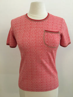Vintage knit pocket shirt