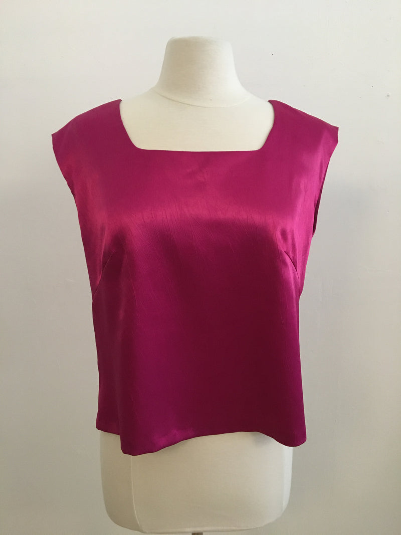 Vintage sleeveless top