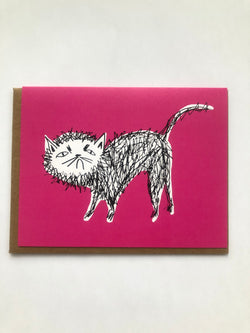 Snitty Kitty Card