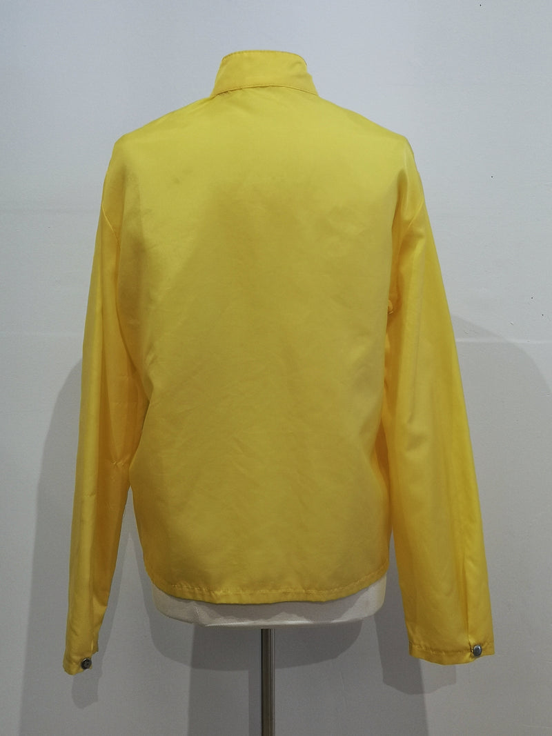 Vintage long sleeve zip front jacket