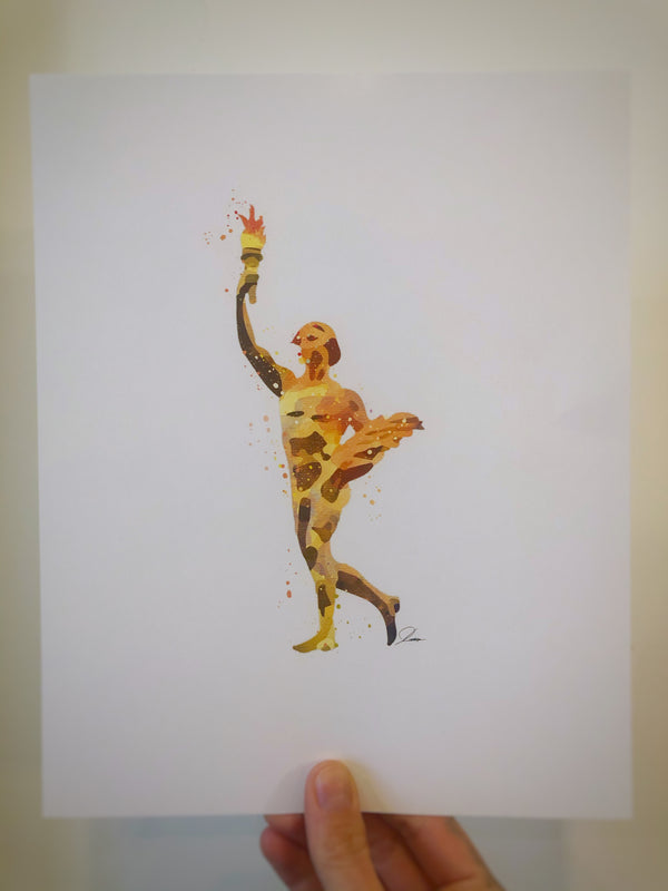 Golden Boy print