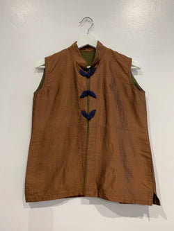 Handmade Toggle Front Vest