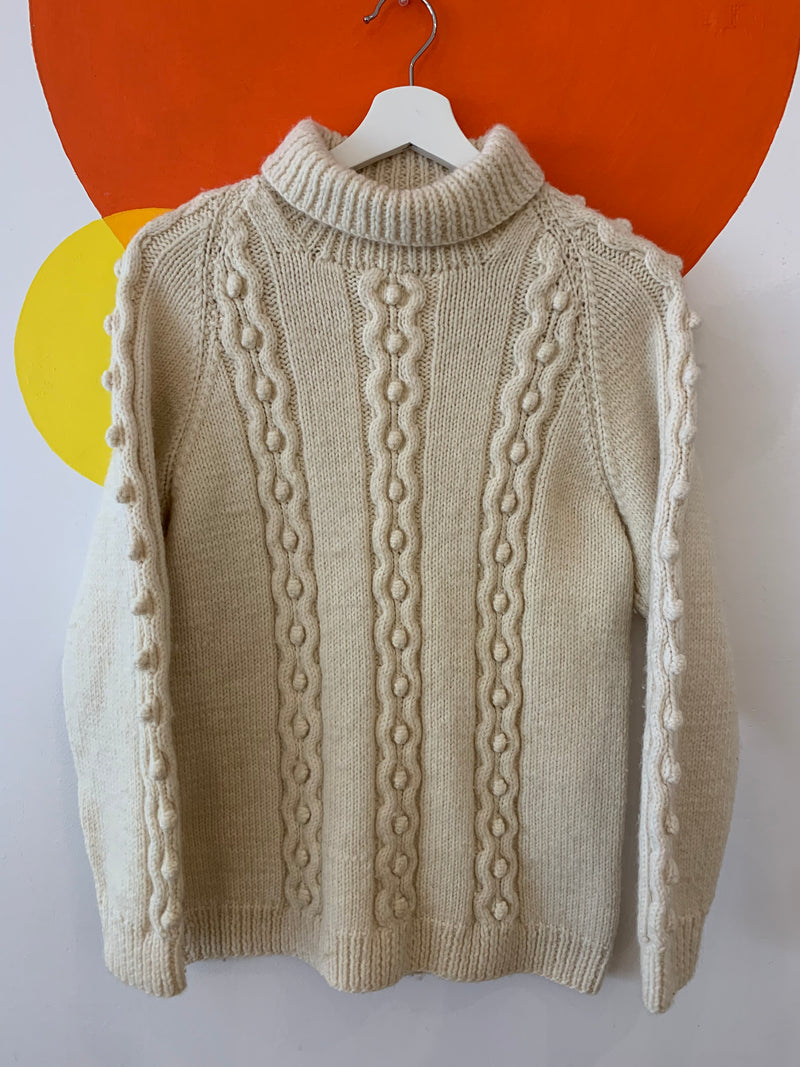 Knitted Wool Turtleneck