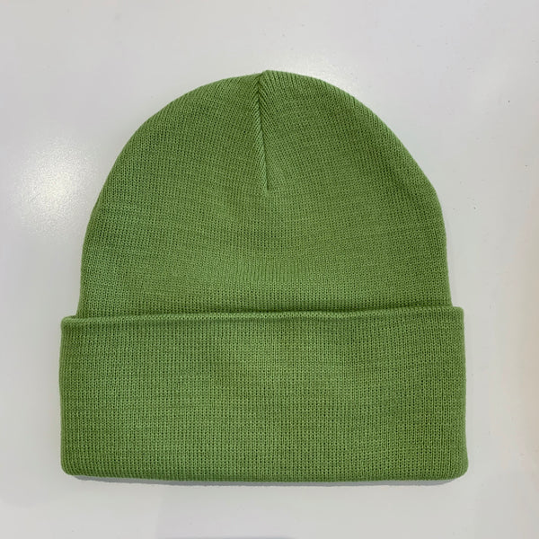 Rib Knit Toque - Sage