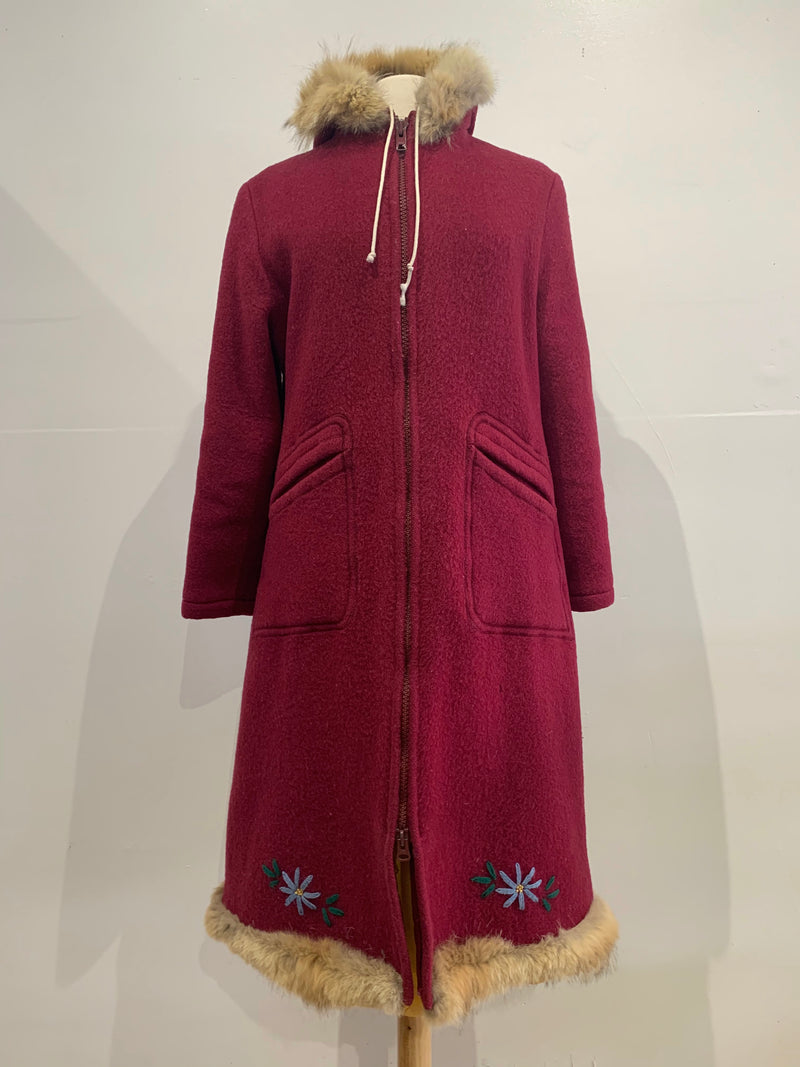 Vintage Wool Parka with Original Shell - Made in Winnipeg!