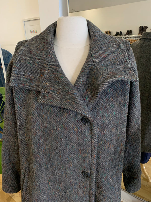 Vintnage Wool & Mohair Blend Coat