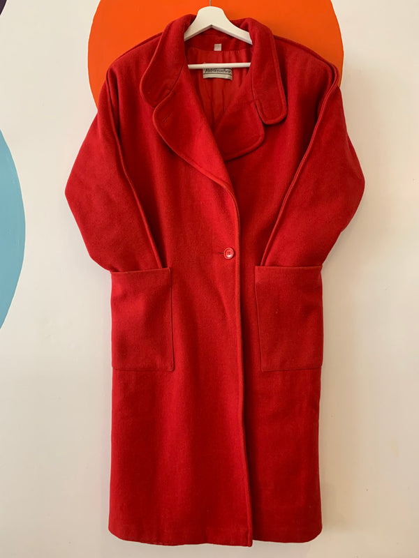Vintage Canadian Made Wool Coat