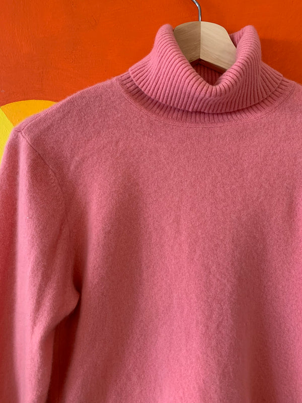 Pretty Pink Cashmere Sweater
