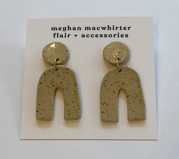 Edie ceramic earrings