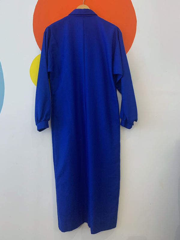 Vintage Cobalt Shirt Dress