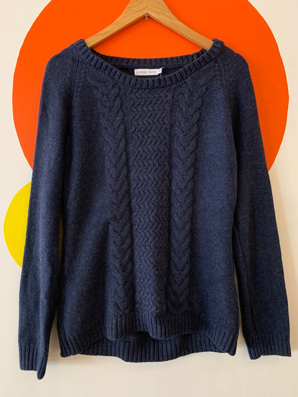 Alfred Sung Cable Knit Sweater