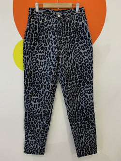Versace Jeans Couture - Grey Scale Leopard Print