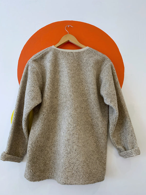Oatmeal Fleece Sweater