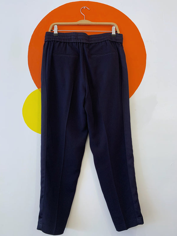 Navy Drawstring Pants
