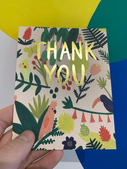 Paradise Thank You Card