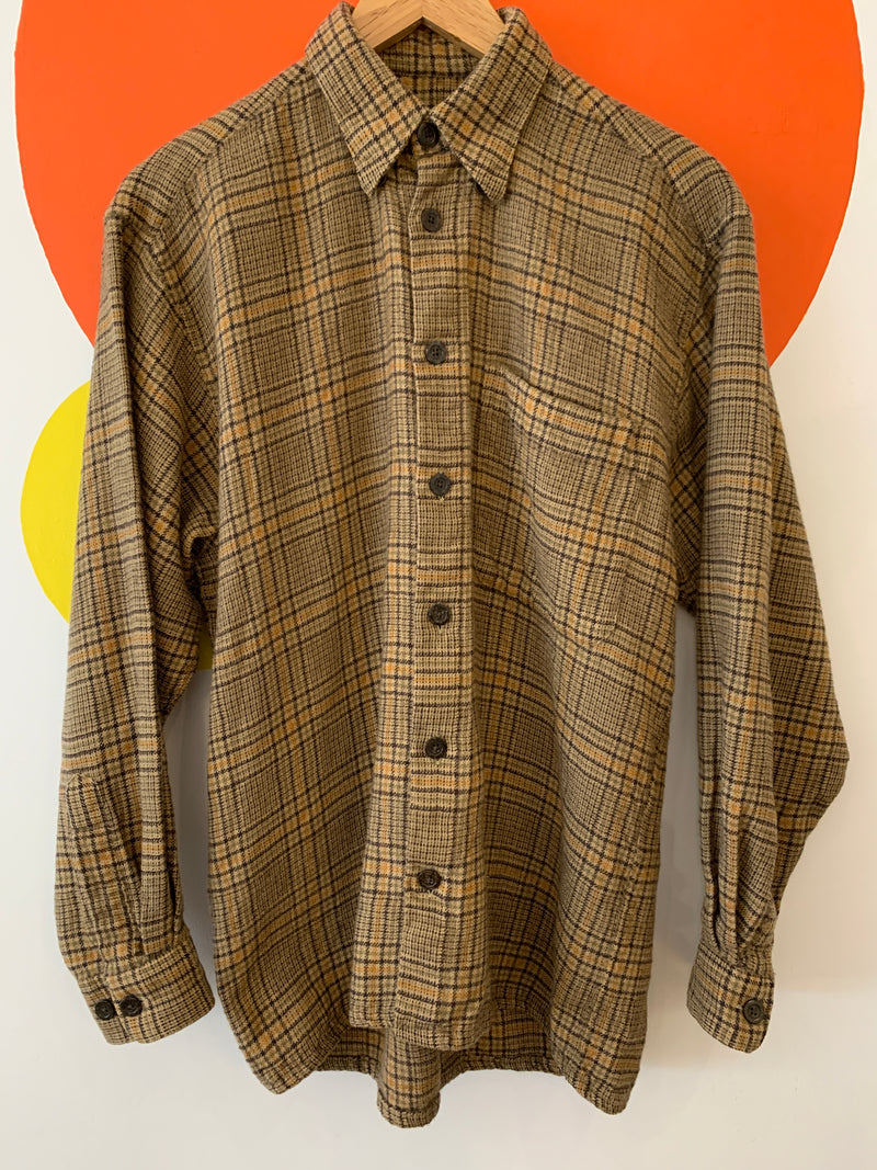 Vintage Wool Button Down