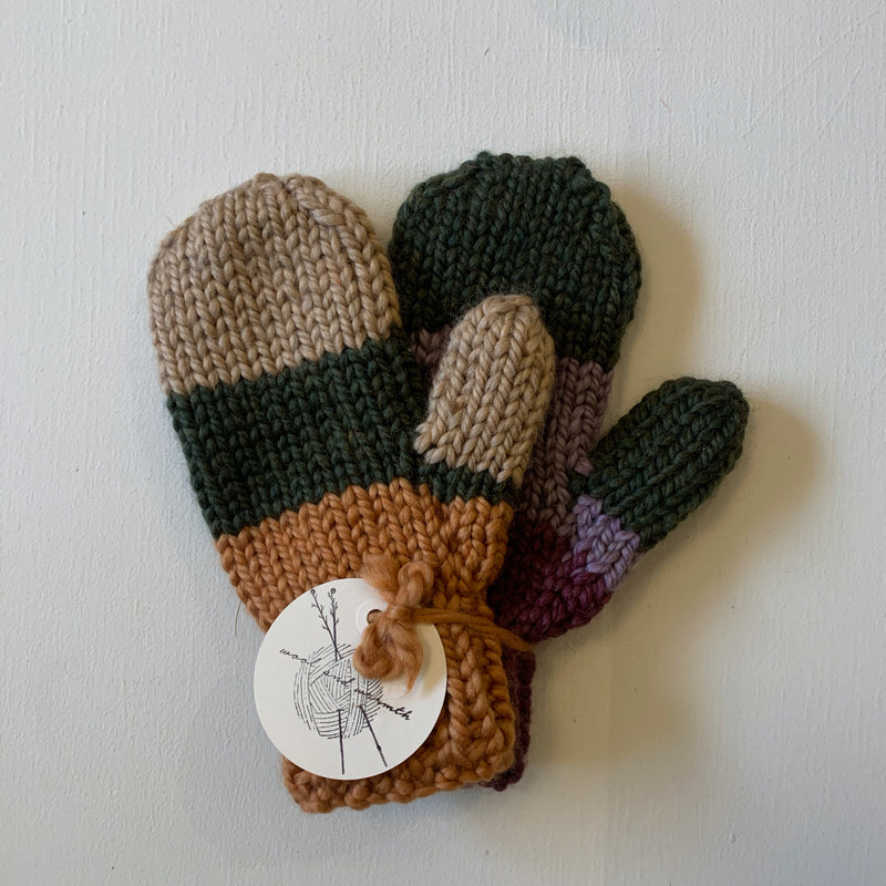 Wool and Warmth Mittens