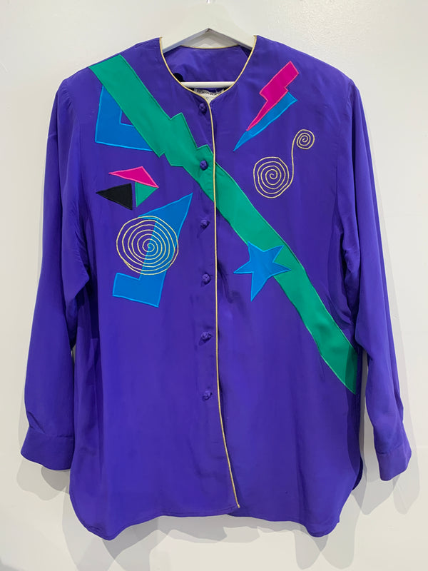 Ultimate 80s Silk Shirt