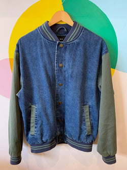 BDG Forest & Mid Wash Jean Jacket