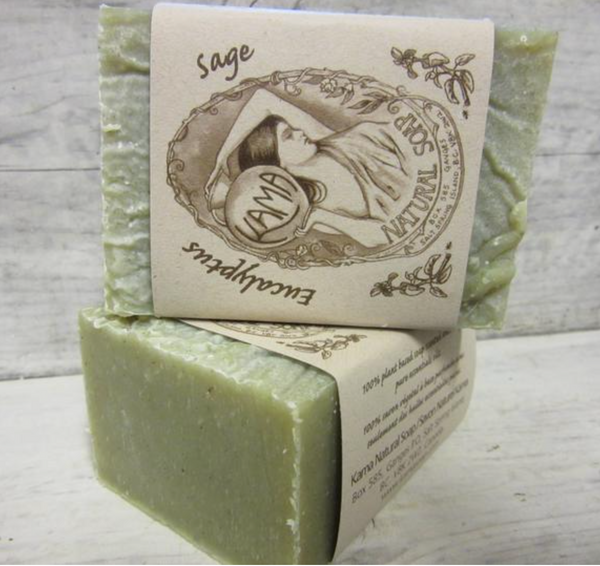Eucalyptus + Sage Natural Soap