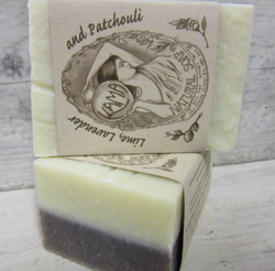 Lime, Lavender + Patchouli Natural Soap
