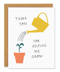 Thank You Seedling Card