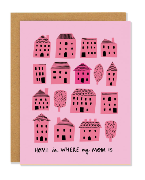 Home is Where my Mom Is Card