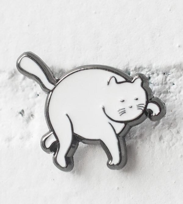 Tip Toe Cat Pin