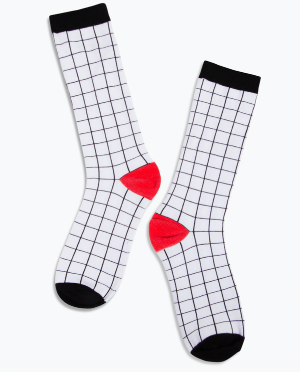 Crew Socks - Grid