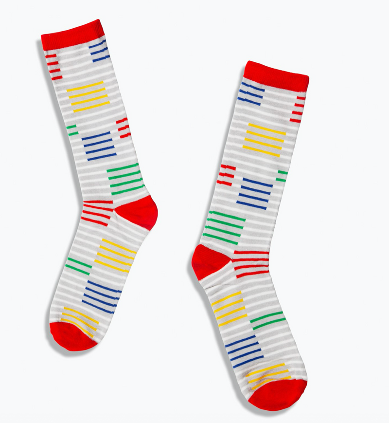 Crew Socks - Thin Stripe