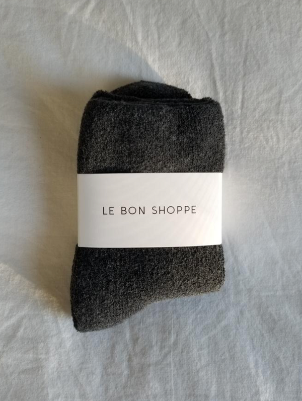 Le Bon Shoppe - Cloud Socks - Charcoal