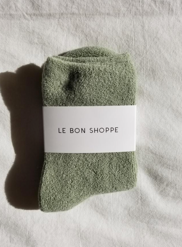 Le Bon Shoppe - Cloud Socks - Matcha