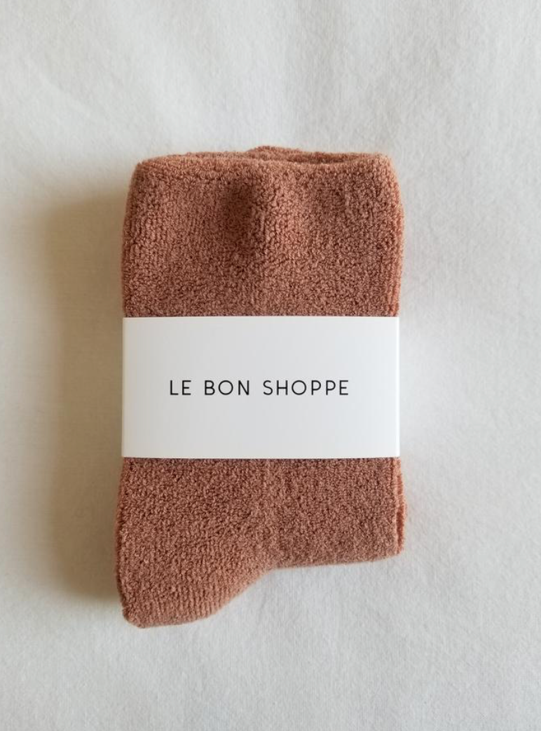 Le Bon Shoppe - Cloud Socks - Clay