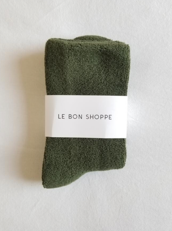Le Bon Shoppe - Cloud Socks - Forest