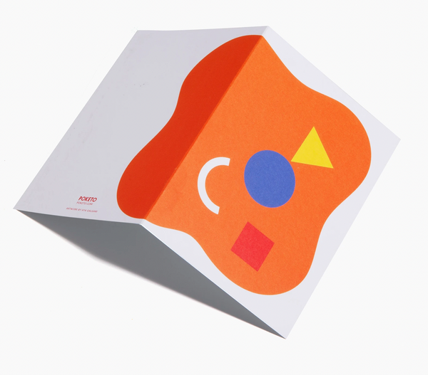 Abstract Shapes Card