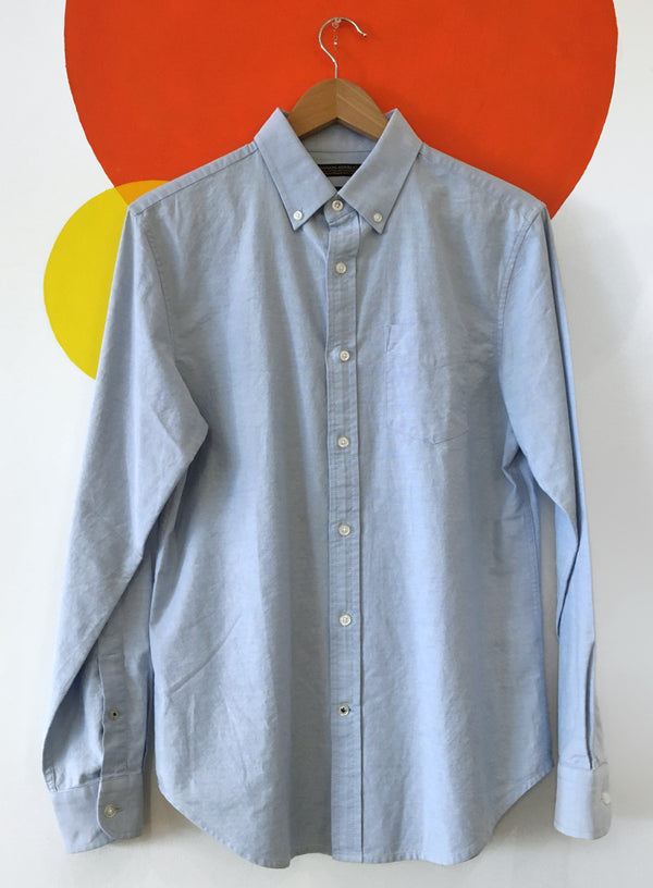 Sky Blue Button Down