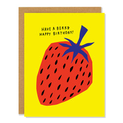 Have a Berry Happy Birthday Card