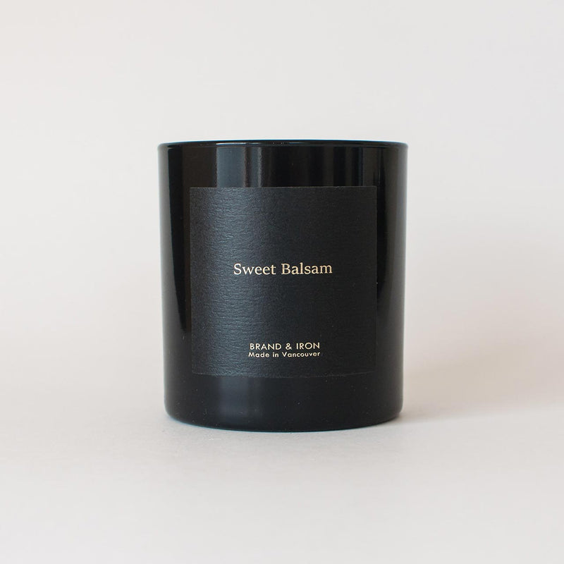 Brand & Iron - Sweet Balsam candle 8.5oz